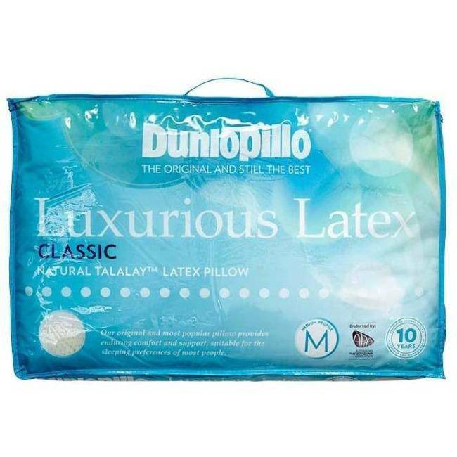 DUNLOPILLO Luxurious Latex Classic Profile Pillow