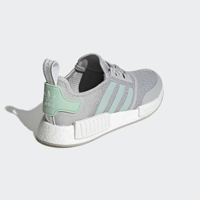 Adidas Originals NMD_R1 Men Shoes Grey Two / Blush Green