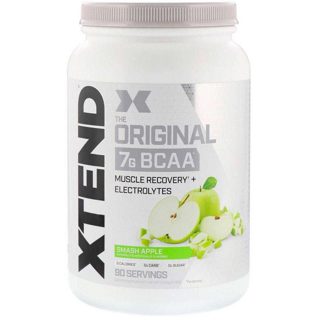 Scivation Xtend The Original 7G BCAA Smash Apple 90 Servings (2.78Lbs) - Chaba Online Store