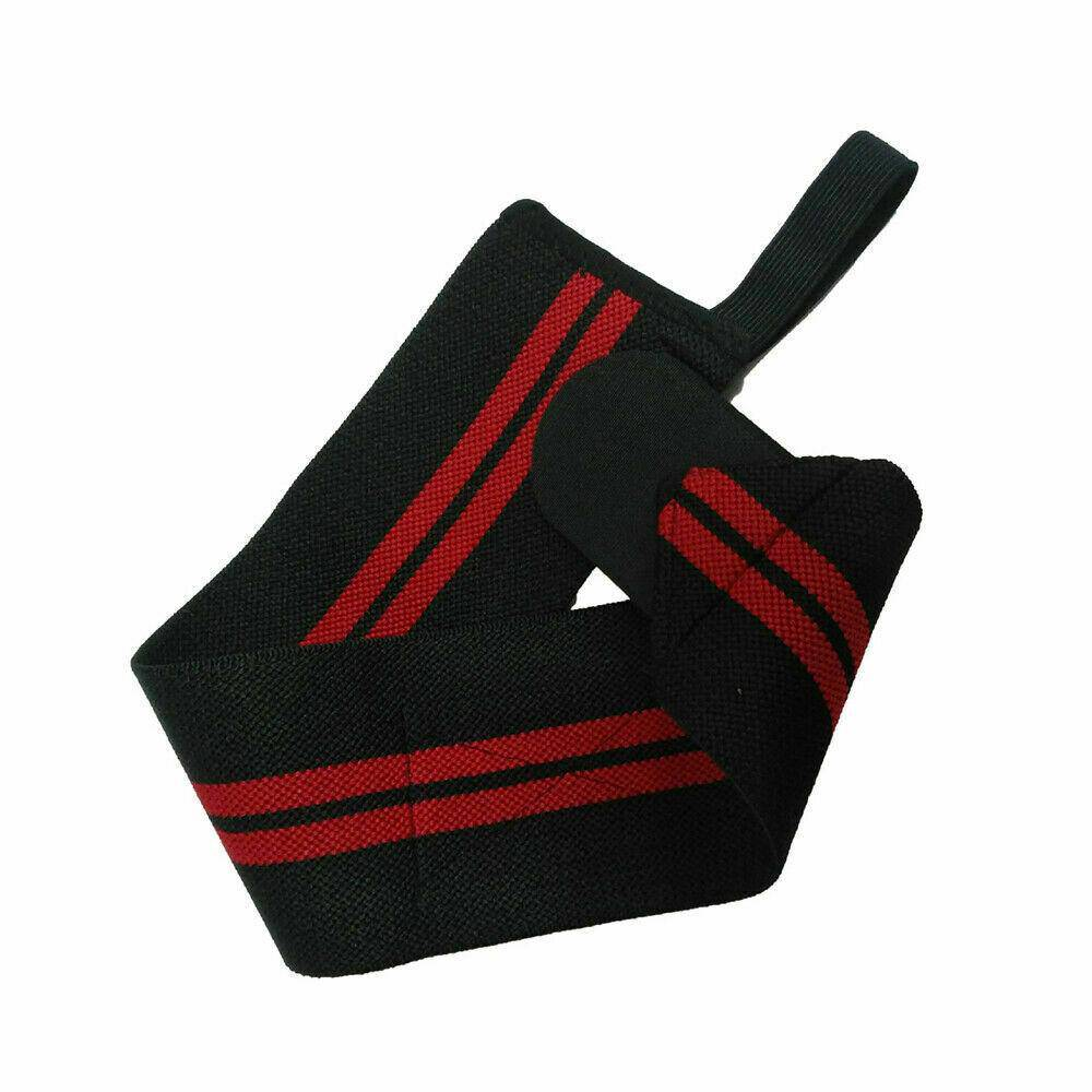 Weight Lifting Support Straps Gym Muscle Training Wrist Wraps Bodybuilding - Chaba Online Store