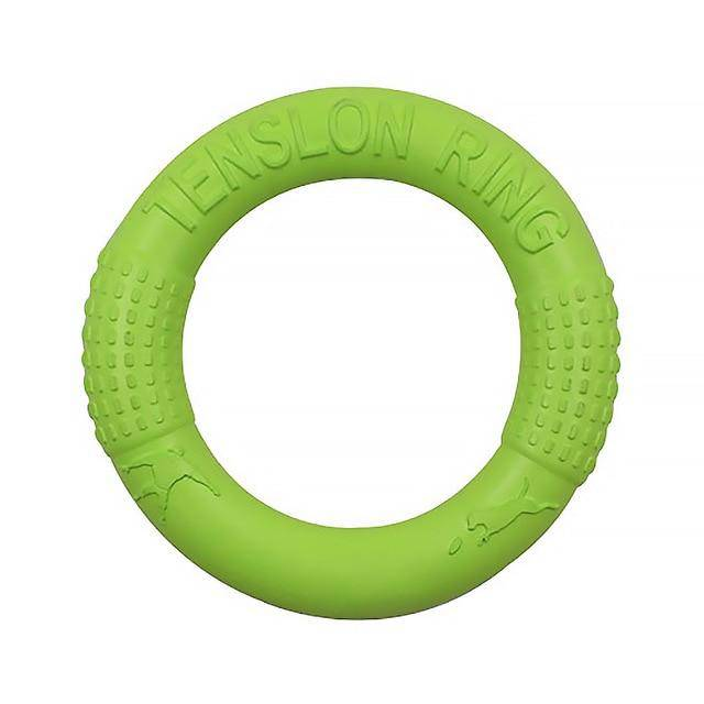 Pet Flying Discs EVA Dog Training Ring Puller Resistant Bite Floating Toy - Chaba Online Store