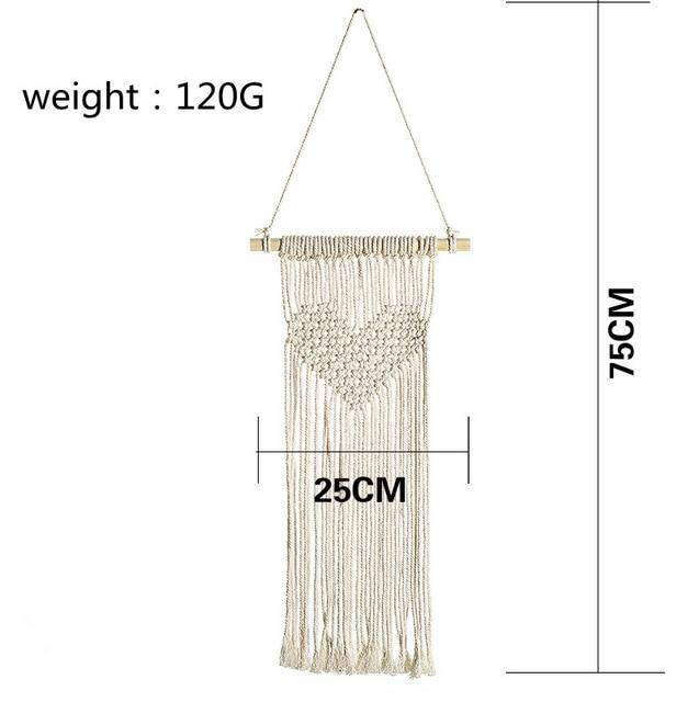 Nordic Star Moon Macrame Dream Catcher Christmas Room Decoration - Chaba Online Store