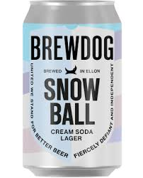 BREWDOG Snowball Cream Soda Lager