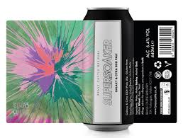BRASS CASTLE - Supersoaker 6.4% Galaxy & Citra DDH Pale Ale