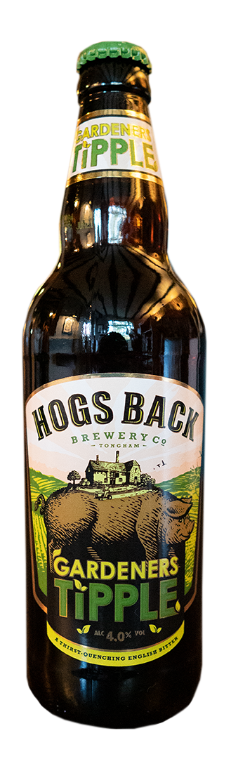 HOGS BACK Gardeners Tipple English Bitter