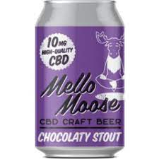 MELLO MOOSE - Chocolaty Stout - Contains CBD