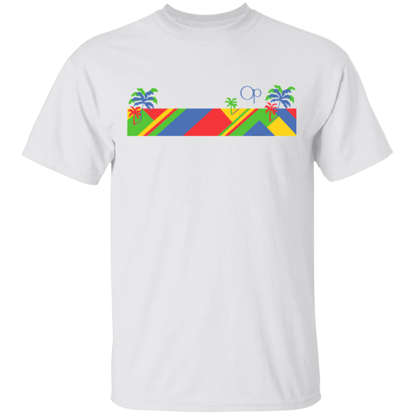 Color Bar Short Sleeve Tee