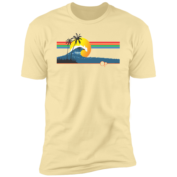 Sunset Wave Short Sleeve Tee - Ocean Pacific