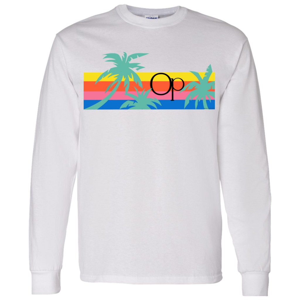 Classic Palms Long Sleeve Tee