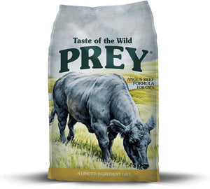 Taste Of The Wild Grain Free Prey Limited Ingredient Angus Beef Dry Cat Food