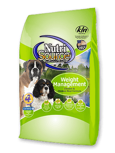 Nutrisource Weight Management Recipe Dog Food