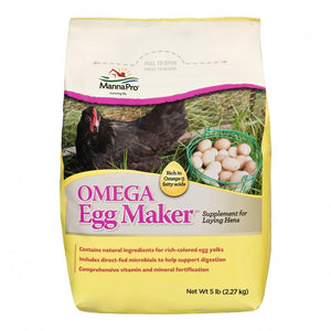 Manna Pro Adult Poultry Care Omega Egg Maker