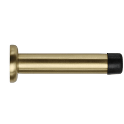 Solid Brass Door Stop, Skirting Concealed Fix
