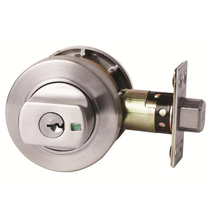 Lockwood Paradigm 005 Round Deadbolt - Satin Chrome
