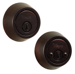 Bordeau RoundDeadbolt setOil Rubbed Bronze