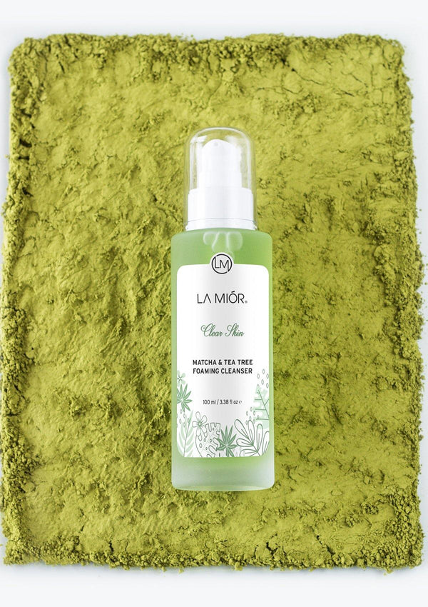 Clear Skin Matcha & Tea Tree Foaming Cleanser