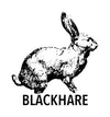 Blackhare Handprinted Goods and Apparel Logo