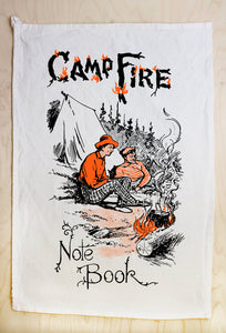 Campfire Tea Towel