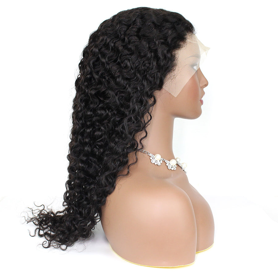 Affordable Curly Lace Front Wigs 13*4 Lace Wigs Coffy Hair 100% Human Brazilian Hair Wigs