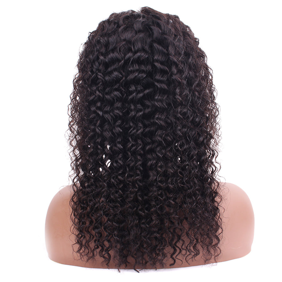 Curly Bob Wigs Remy Human Brazilian Hair 13*4 Lace Front Bob Wigs No Tangle With Baby Hair