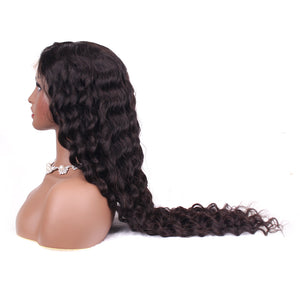 Cheap Lace Front Wigs 100% Virgin Hair 13x4 Lace Front Wigs Loose Wave Pre Plucked Hairline