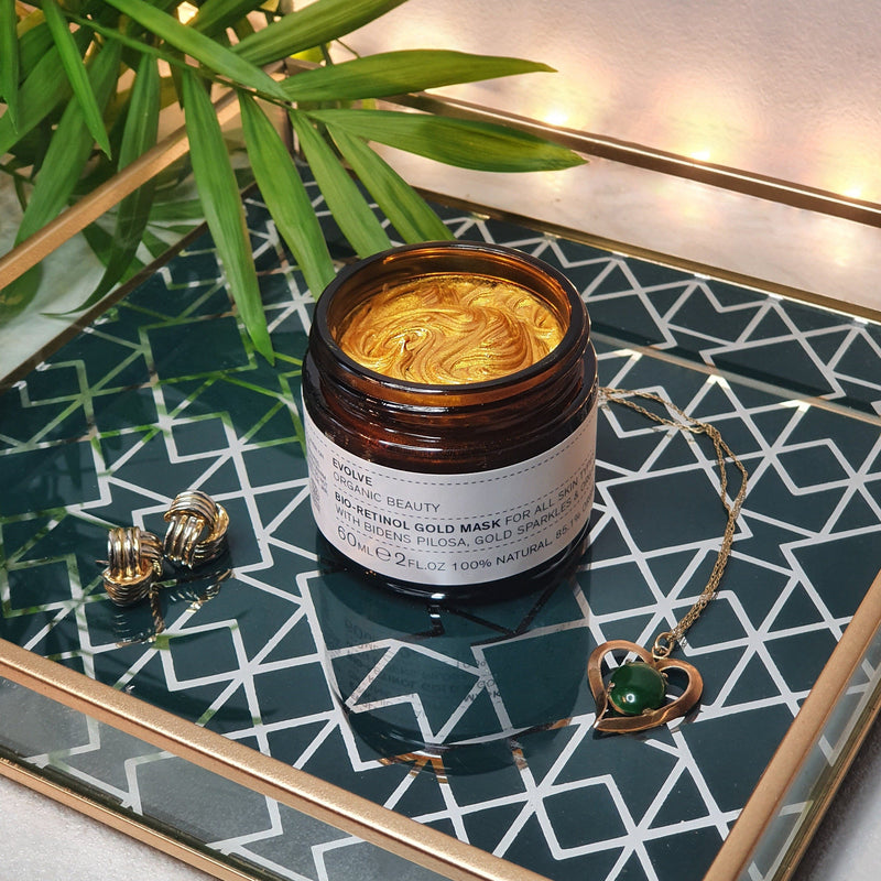 Bio-rethinol gold mask