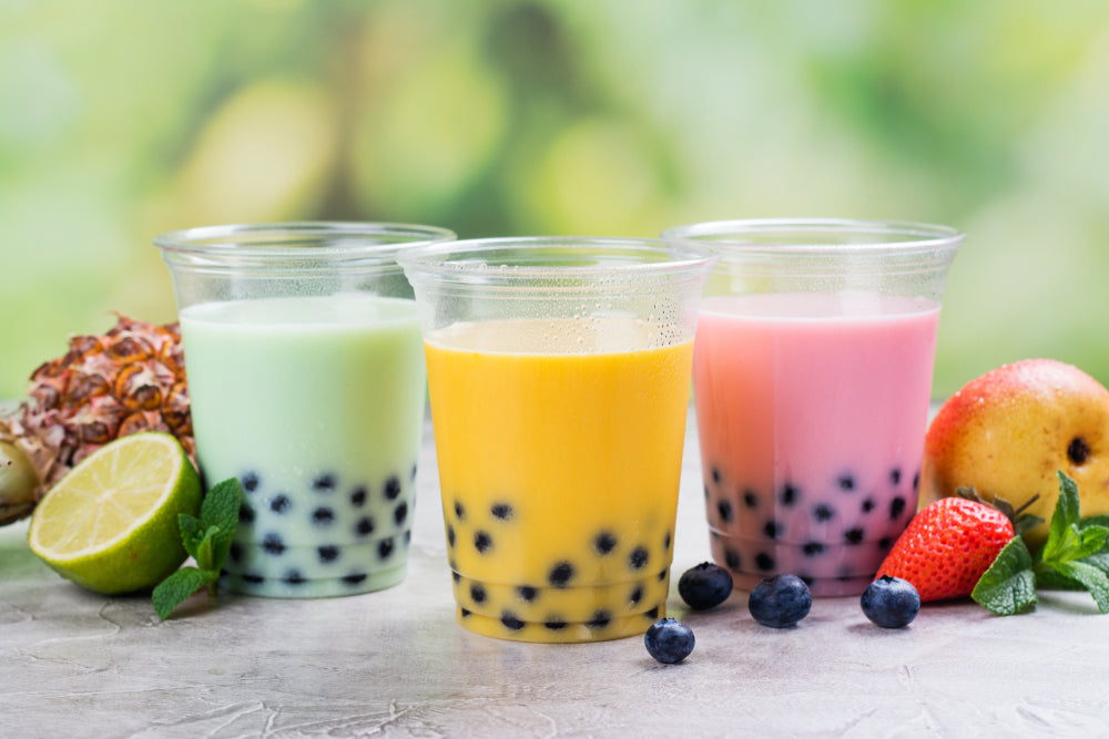 Let's have a Tea Party :  Homemade Matcha Bubble Tea