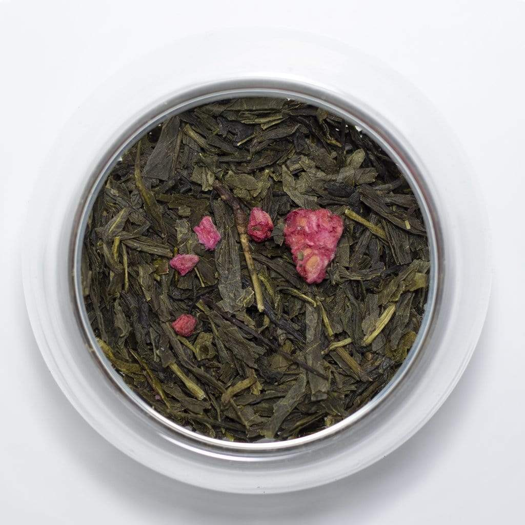 Sociéthé 255 DANCING RASPBERRY 200 Green Tea 50g