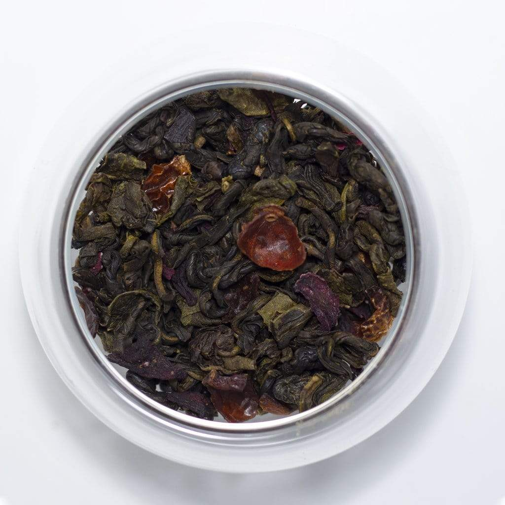 Sociéthé 263 POMEGRANATE HIBISCUS 200 Green Tea 50g