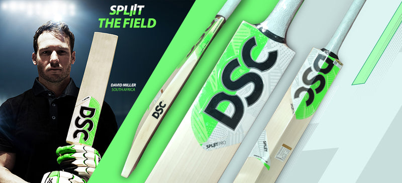 New Arrival: DSC SPLIIT CRICKET BATS