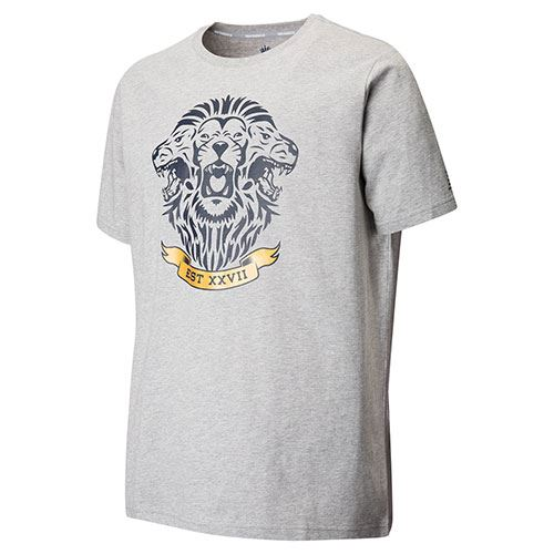 England Graphic Cricket Tee grey