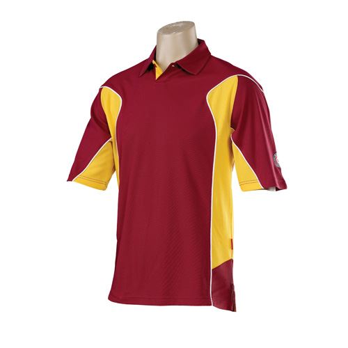 Hunts County Active Junior Coloured Cricket Shirt