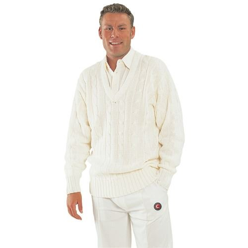 Hunts County Cricket Sweater Trimmed