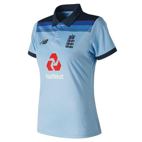 ECB WE ARE ENGLAND ODI SS POLO REPLICA WOMAN MAIN