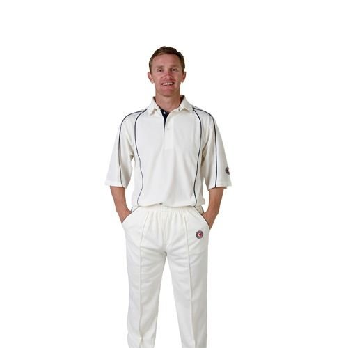 Hunts County Mesh Concept Junior Cricket Shirt
