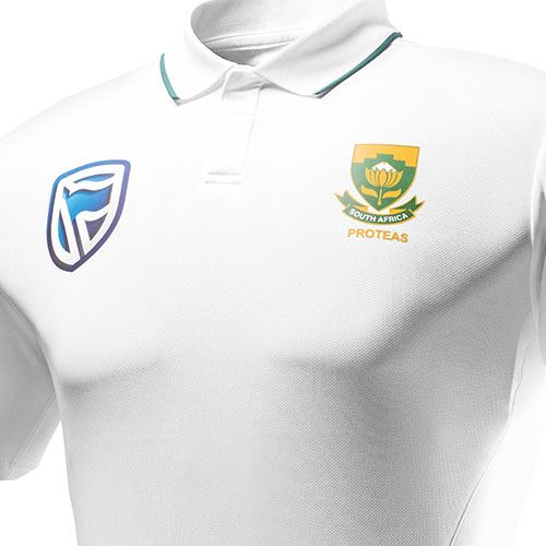 South Africa Test Polo Cricket Shirt