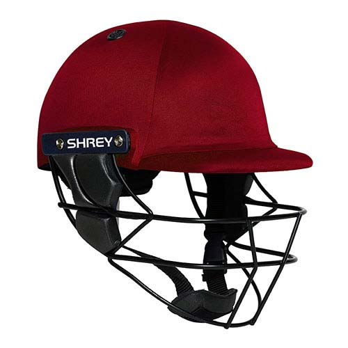 Shrey Armor Cricket Helmet Marron