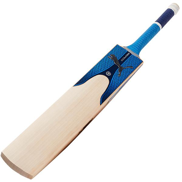 Puma EvoSpeed 2.17 Blue Cricket Bat Back