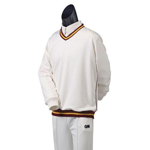 Gunn & Moore Teknik Trimmed Cricket Sweater