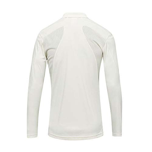 Adidas Howzat Long Sleeve Junior Cricket Shirt Back