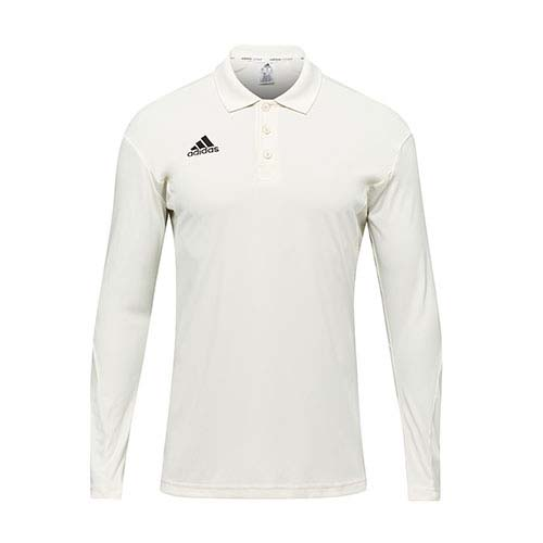 Adidas Howzat Long Sleeve Junior Cricket Shirt Main