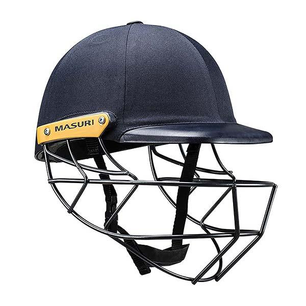 Masuri C-Line Plus Steel Senior Cricket Helmet Navy