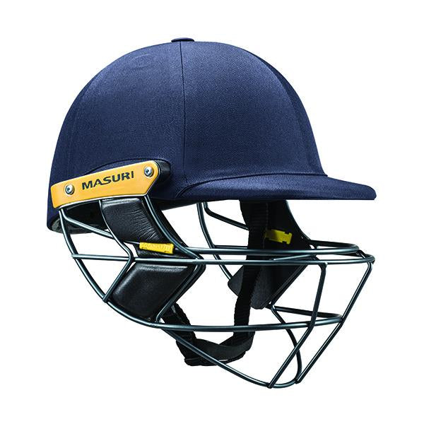 Masuri E-Line Steel Senior Cricket Helmet Navy