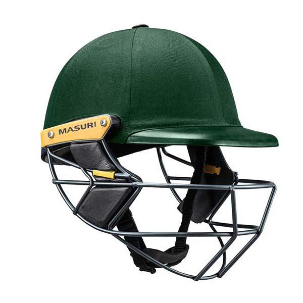 Masuri C-Line Plus Steel Senior Cricket Helmet Green