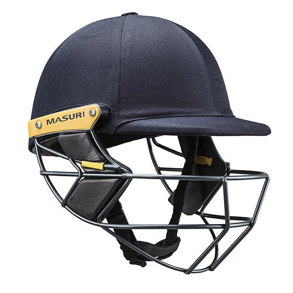 Masuri T-Line Steel Senior Cricket Helmet Navy
