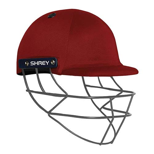 Shrey Performance Junior Cricket Helmet Maroon