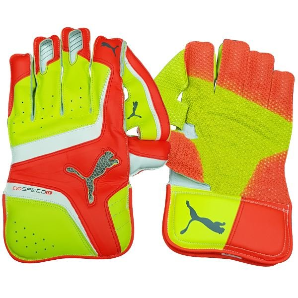 Puma evoSpeed LE Orange Wicket Keeping Gloves