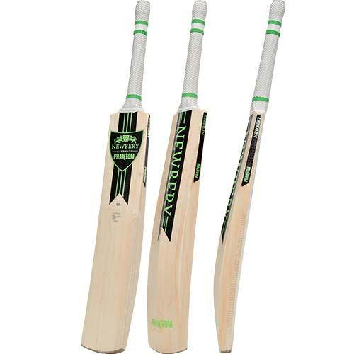 Newbery Phantom LE Cricket Bat Green/Black