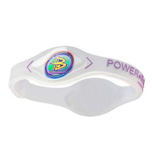 Power Balance Silicone Wristband White/Pink