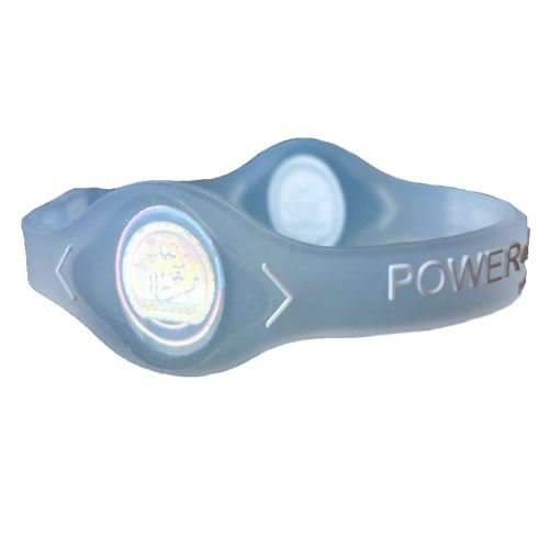 Power Balance Silicone Wristband Clear/White